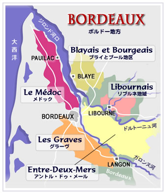 Bordeaux-WineMap